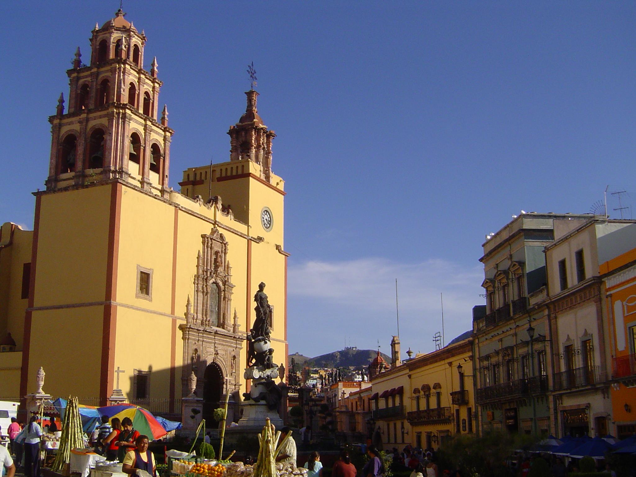 Kathedrale in Guanajuato