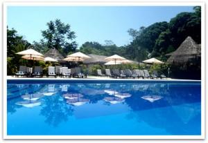 Hotel Villa Mercedes in Palenque in Chiapas