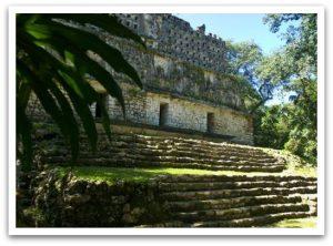 Maya Pyramide in Chiapas
