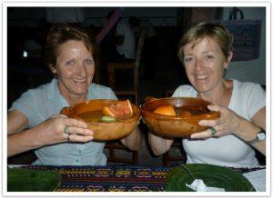 Andrea und Hildegard Ströhlein in Mexiko als Gäste von Buenos Dias Mexico
