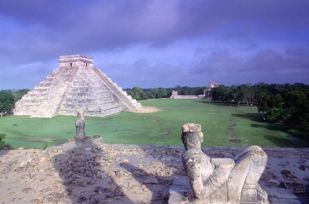Maya Pyramide auf Maya Yucatán Rundreise