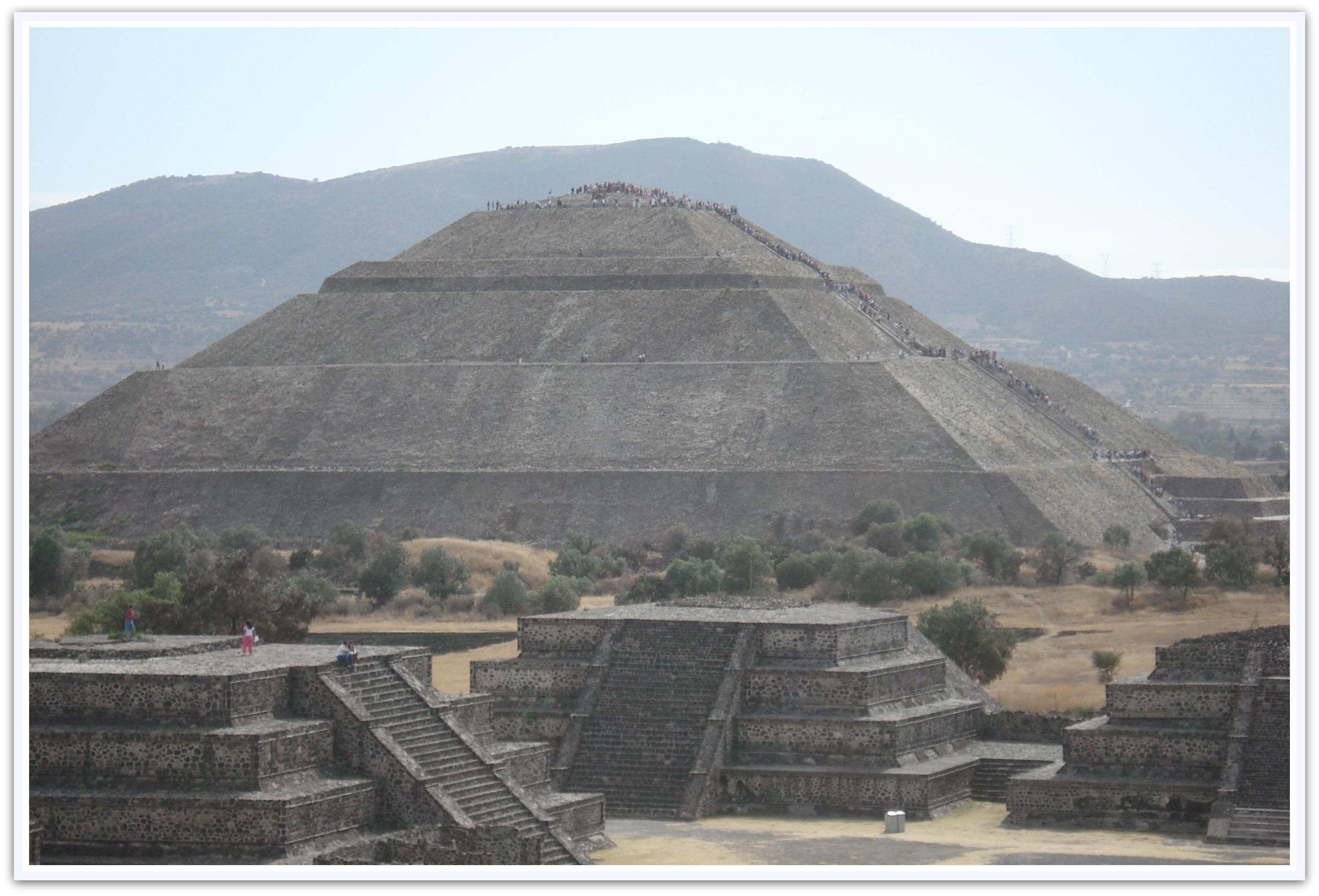 Maya Pyramiden von Teotihuacan in Mexico City