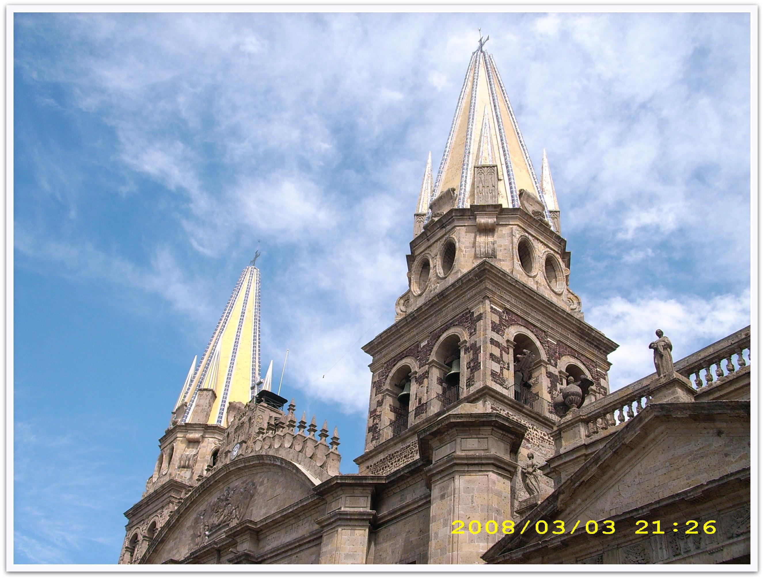 Kathedrale in Guadalajara