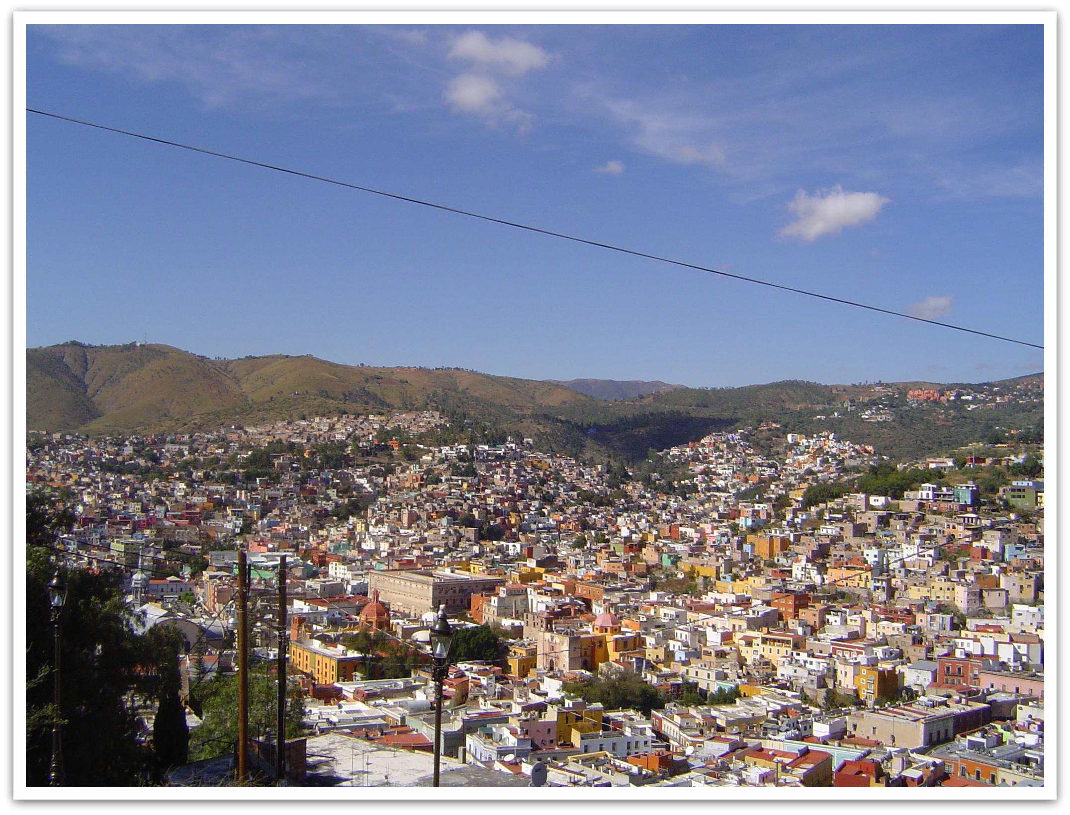 Guanajuato ein UNESCO Weltkulturerbe in Mexiko