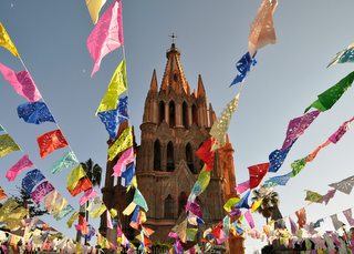 Kathedrale San Miguel de Allende