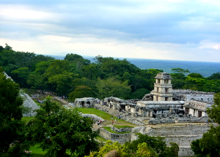Palenque Ausgrabungsstätte Mexico