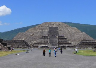 Teotihuacan Piramids