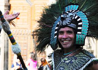 Indianer Zocalo Mexico