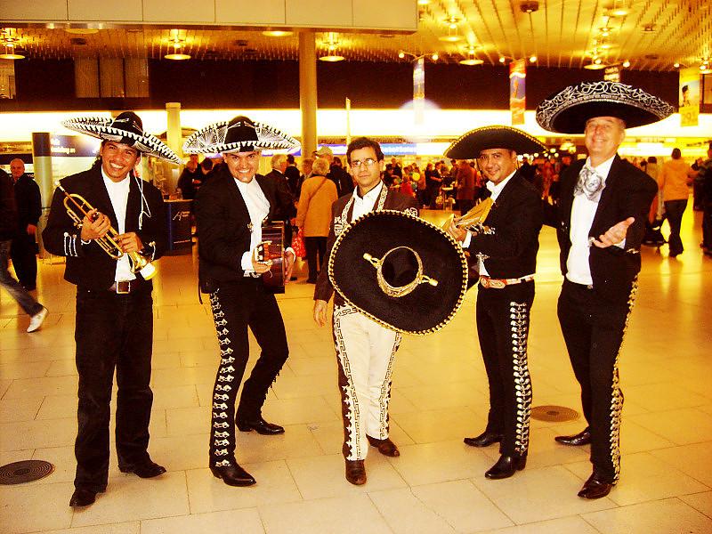 el mariachi band