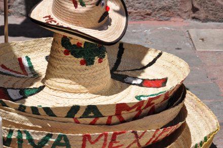 Sombreros am 15. September