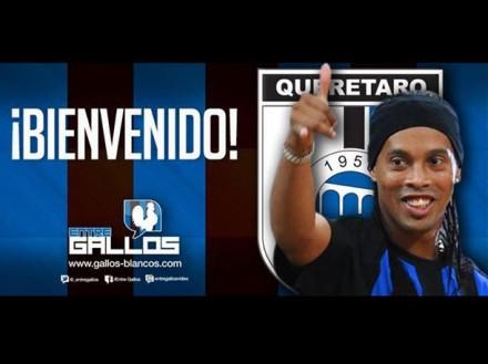 Ronaldinho in Querétaro