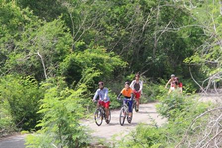 Fahrradtour Yucatán