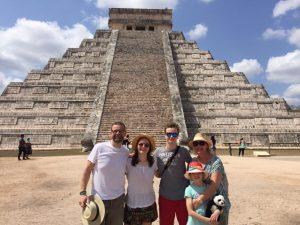 Familienreise Mexiko Chichen Itza