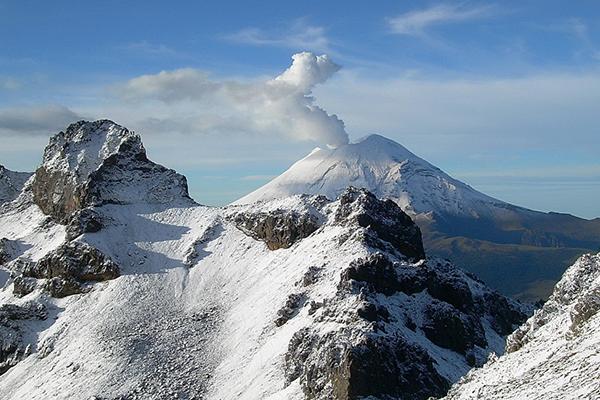 Der Popocatépetl bleibt nicht ruhig – Erneuter Ausbruch